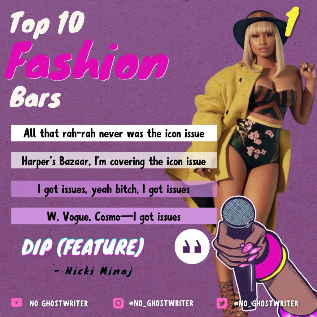 #1: Nicki Minaj - 'Dip'