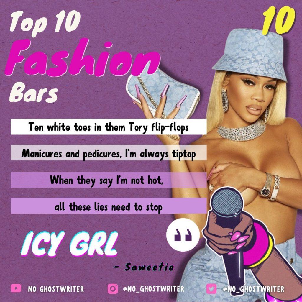 #10: Saweetie - 'Icy Grl'