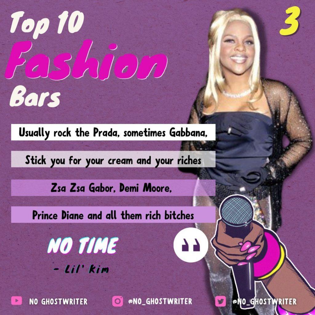 #3: Lil' Kim - 'No time'