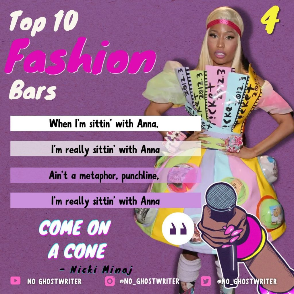 #4: Nicki Minaj - 'Come On A Cone'