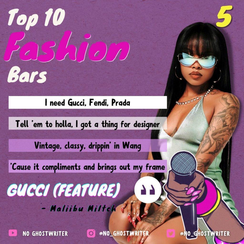 #5: Maliibu Miitch - 'Gucci'