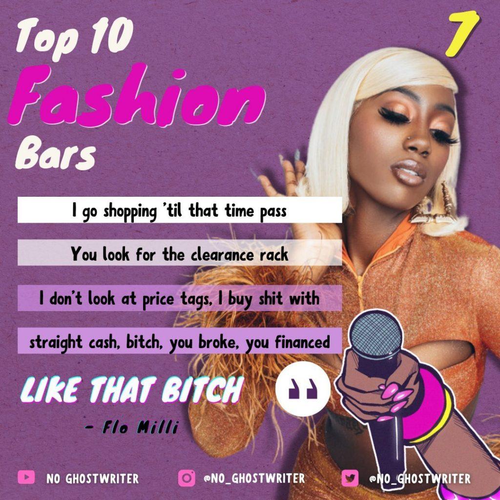 #7: Flo Milli - 'Like That Bitch'
