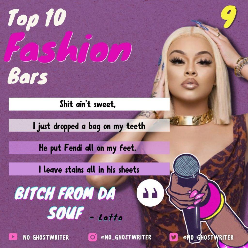 #9: Latta - 'Bitch From Da Souf'