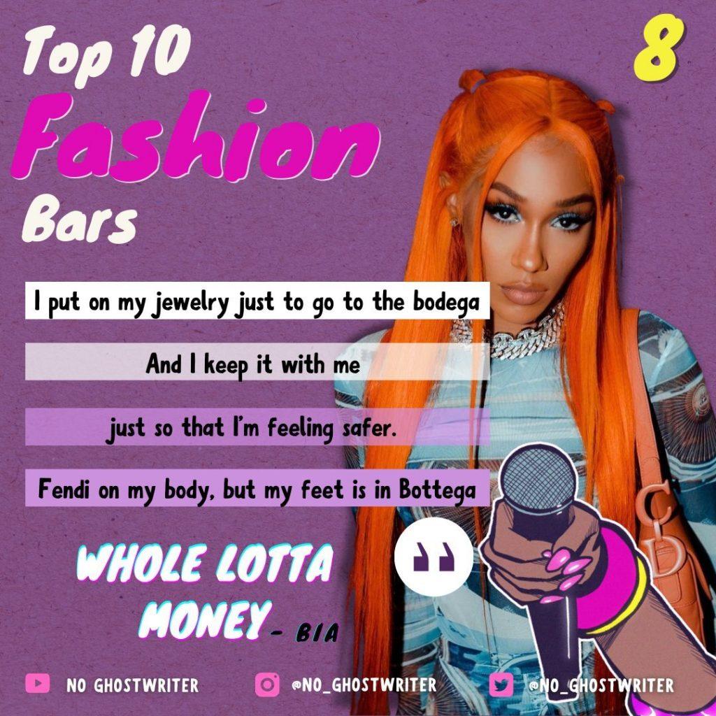 #8: Bia - 'Whole Lotta Money'